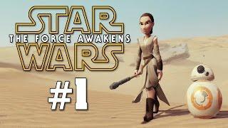 CRASHED ON JAKKU | Disney Infinity 3.0: The Force Awakens Blind | Part 1