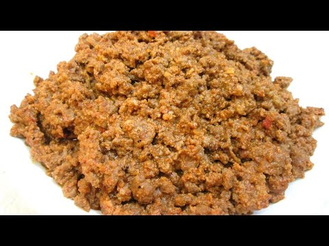 Chili No Beans - Fast Food Style Ground Beef Chili - PoorMansGourmet