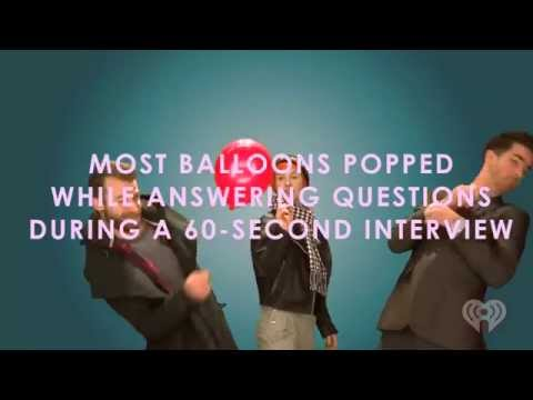 Paramore Plays The Balloon Popping Challenge | Artist Challenge