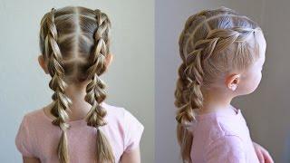 Pull Through Braid Pigtails | Q's Hairdos