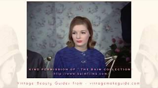 Vintage 1960's Hairstyle Tutorial (1960)