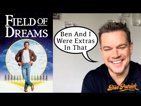 """What Does Matt Damon Remember About Being An Extra In """"Field Of Dreams""""? 