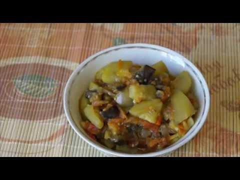 Домашние видео рецепты овощное рагу в мультиварке
