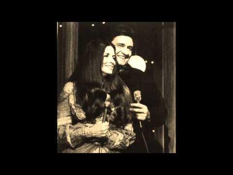 Johnny Cash & June Carter  -  Shantytown