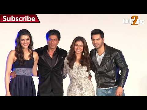 SRK, Kajol back at Maratha Mandir after 'DDLJ, to launch the first song of 'Dilwale' I Bolly 2 Box