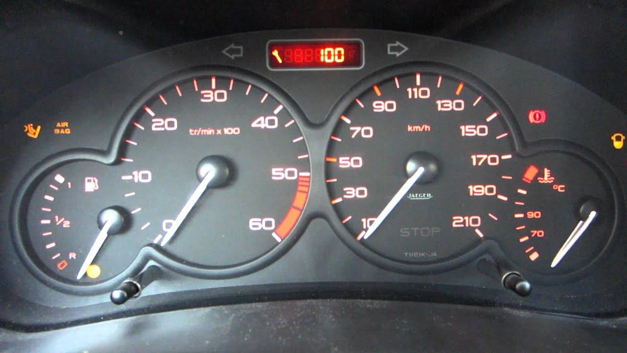Peugeot Dashboard Youtube