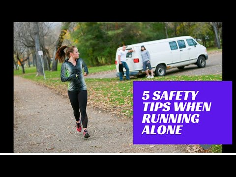5 Safety Tips When Running Alone
