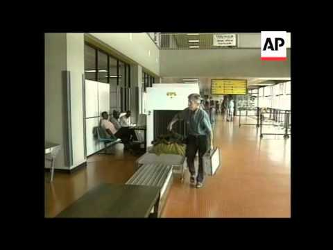 UGANDA: 3 TOURIST MASSACRE SURVIVORS LEAVE ENTEBBE AIRPORT