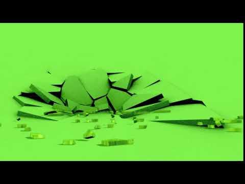 EARTHQUAKE GREEN  SCREEN