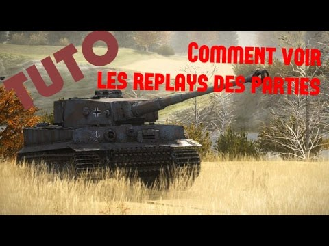 comment regarder replay wot