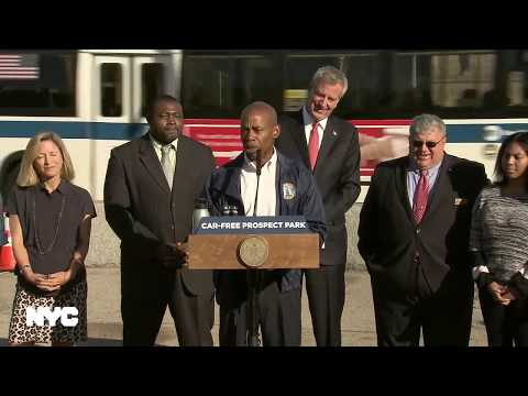 Mayor de Blasio Makes An Announcement