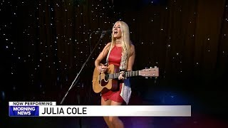 "Julia Cole - ""Priority"" Acoustic (Live From WGN Morning News - Chicago)"