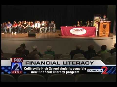 Financial Literacy Program Ceremony - Collinsville High School