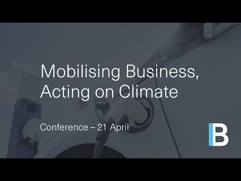 Mobilising Business, Acting on Climate Change