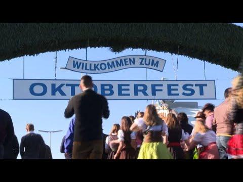 AFP: La 186e Oktoberfest de Munich est ouverte   AFP