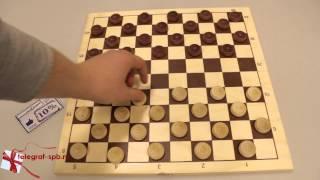Игральные шашки (100 клеточные)