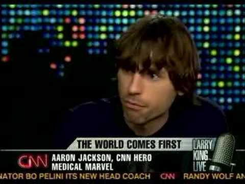 Aaron Jackson on Larry King