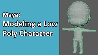 Maya: Simple Character Part 01 - Modeling