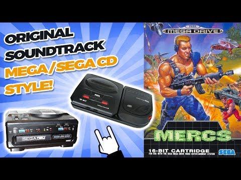 MERCS OST - Mega / Sega CD Style Cover