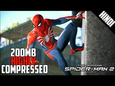 [200MB] Amazing Spiderman 2 Highly Compressed - Apk+Data - Gameplay - For Android - 동영상