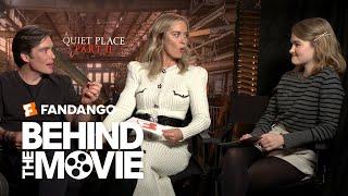 The Cast of 'A Quiet Place Part II' Talk Moviegoing \u0026 Apocalypse Survival | Fandango All Access