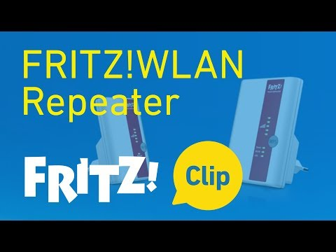 FRITZ! Clip – Increasing the range of a wireless LAN with the FRITZ!WLAN Repeater