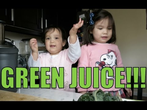 Green Juicing Kids- BenjiManTV