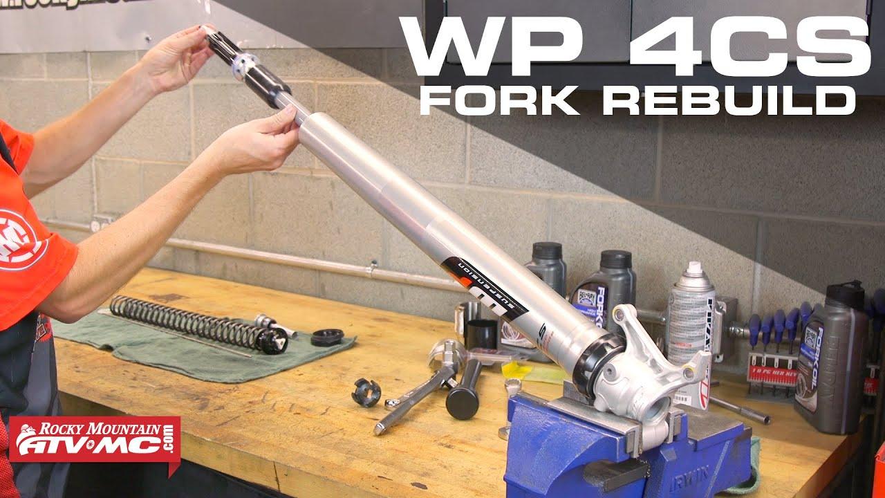 ktm/ husqvarna wp 4cs fork rebuild - youtube