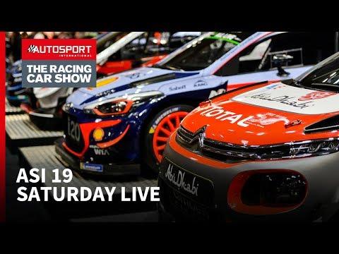 Saturday Autosport Stage Livestream Autosport International 2019