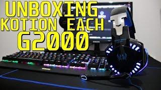 Unboxing Headset Gamer kotion each G2000 PT-BR (GearBest)
