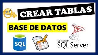 Como crear tablas en Sql Server