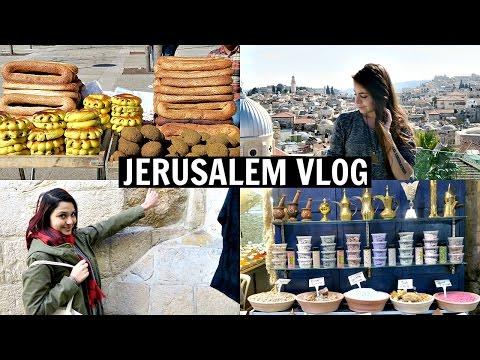 Jerusalem Old City Vlog + Jewish Friday Night Dinner w/ My Family!