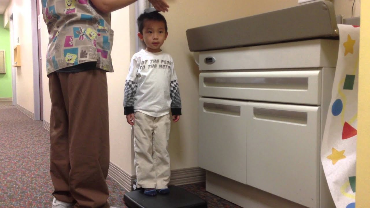 Toddler Height Measure - YouTube