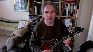 The Fairhaired Boy (jig) on mandolin