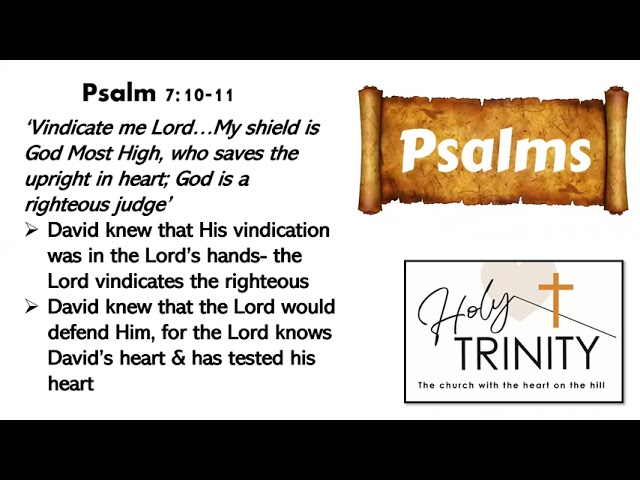 Bible Study on the Book of Psalms: Songs of the Heart: Session 1
