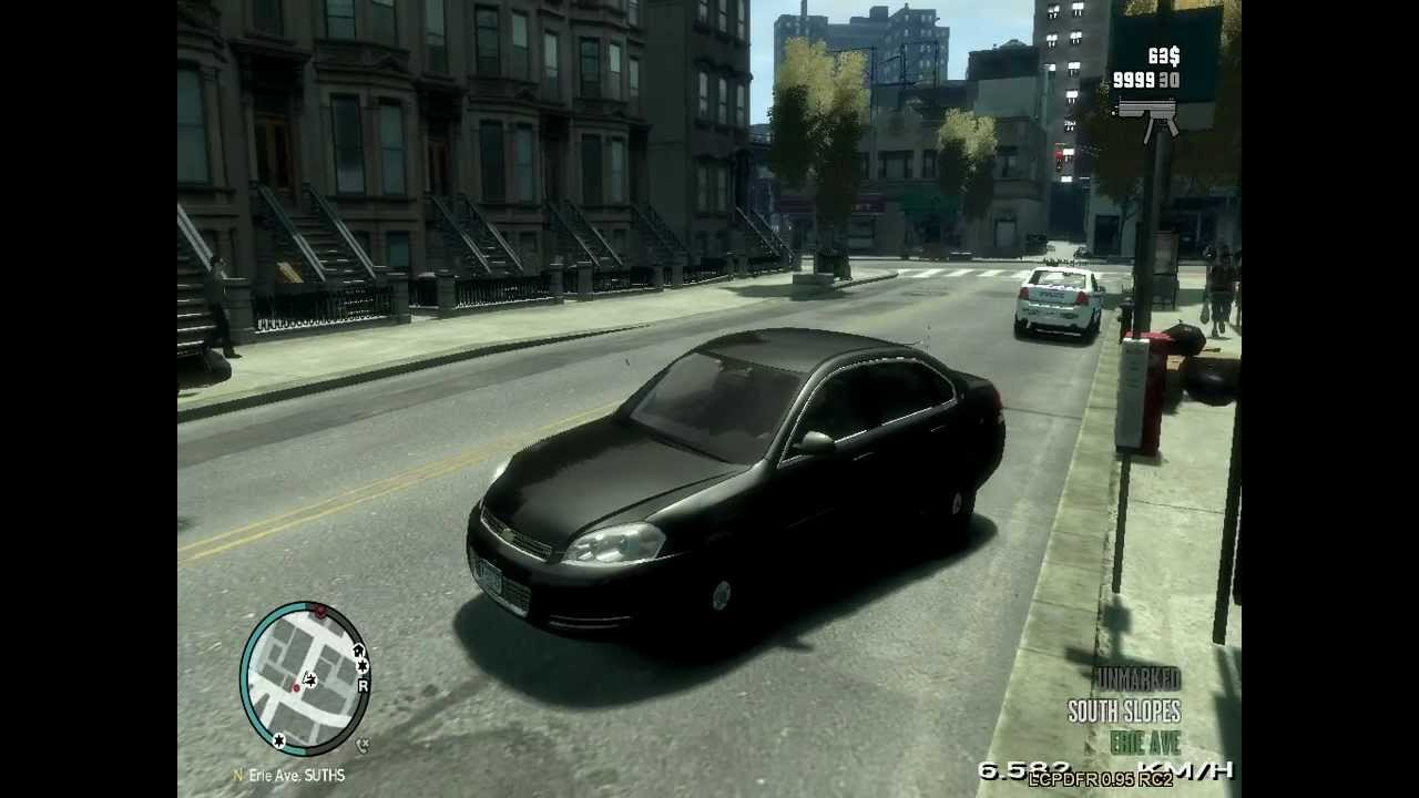 GTA-IV-PC-LCPDFR patrolling in a unmarked car and an ...