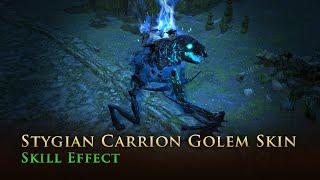 Path of Exile: Stygian Carrion Golem Skin