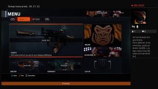 Jugando al Call Of Duty Black Ops 3