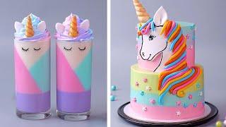 The Best Rainbow Cake Decorating Tutorials  So Yummy Chocolate Cake Decorating Compilation