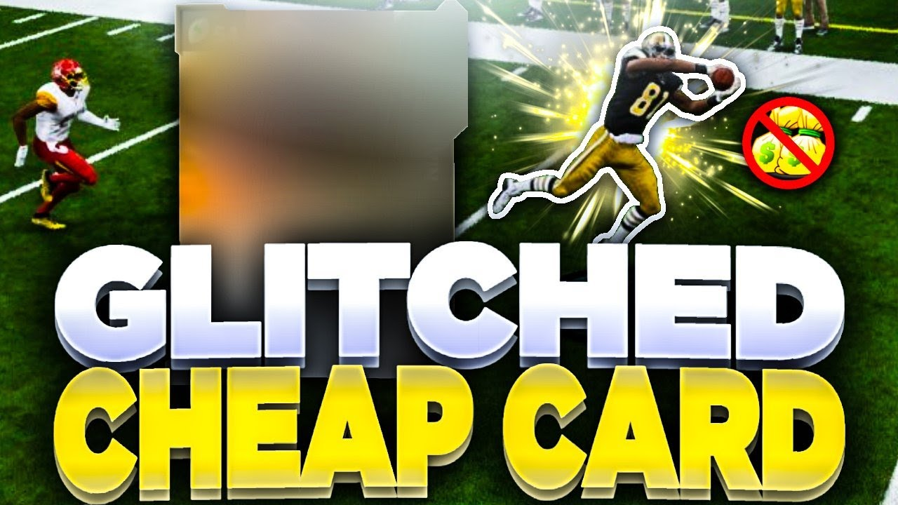 THIS CHEAP CARD IS GLITCHED | EVERYONE BUY THIS PLAYER NOW! | MADDEN 21 NO MONEY SPENT!