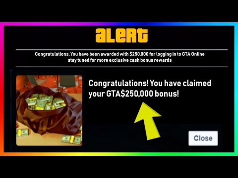 GTA 5 Online - FREE MONEY IS HERE!!! - Rockstar Games GIVING AWAY $1Million To Players! (GTA V) thumbnail