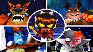 Crash Bandicoot Trilogy - All Bosses (No Damage)