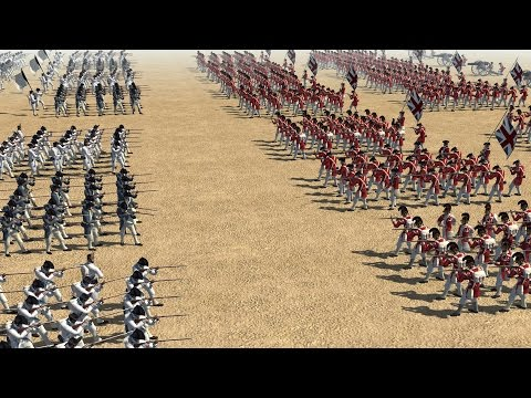 BRITISH vs FRENCH BATTLE  - Born in the Fire: America MOD