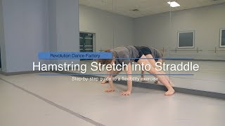 Hamstring Stretch into Straddle