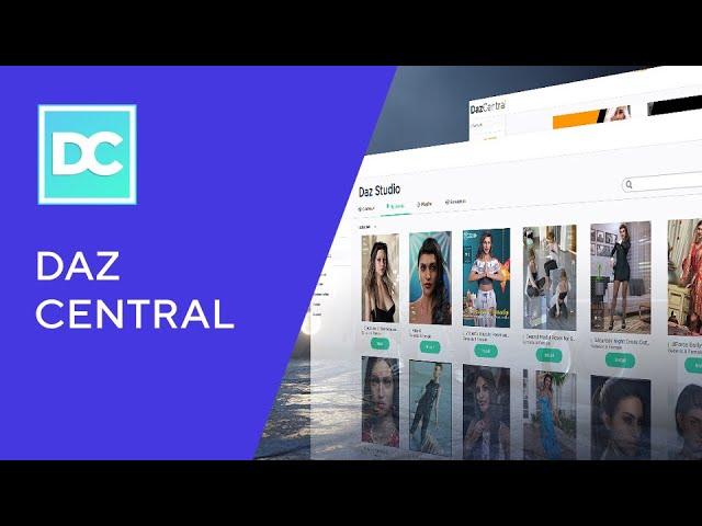 Introducing Daz Central