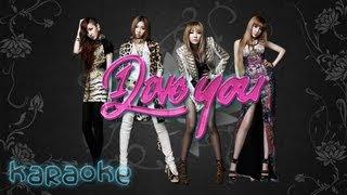 2NE1 - I Love You [karaoke]