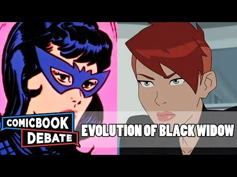 Evolution Of Black Widow In Cartoons In 8 Minutes (2018)