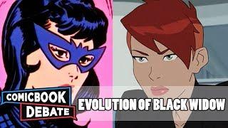 Evolution of Black Widow in Cartoons in 8 Minutes (2018)