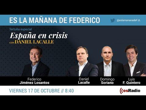Tertulia especial 'España en crisis', con Daniel Lacalle