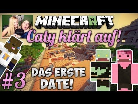 DAS ERSTE DATE - WIE VERHALTE ICH MICH?! - Minecraft: Caty klärt auf #03 | ungespielt